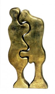 Конструктор для взрослых,бронза,из 2 частей,1980 г.-