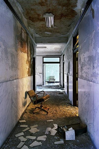 Руины Детройта, забросы, фотографии