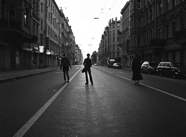 Онацко, фотограф, Питер, чб