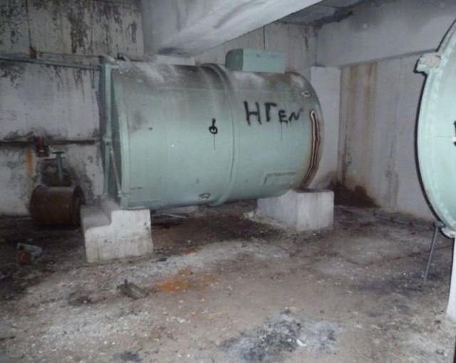 Помещение с резервуарами для питьевой и технической воды