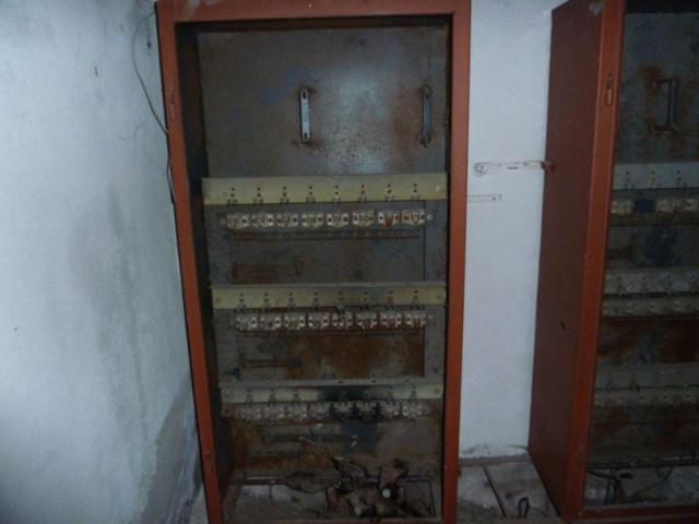 Электрощитовая системы энергообеспечения бомбоубежища