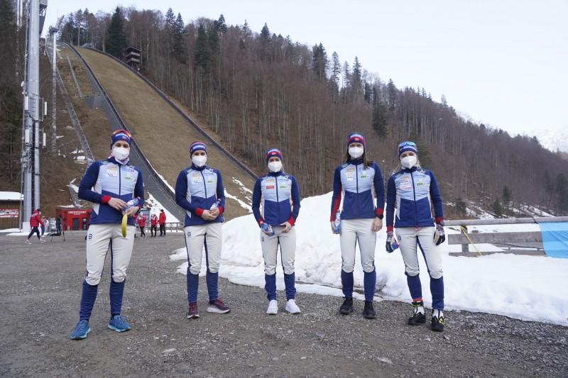 Норвежская женская команда