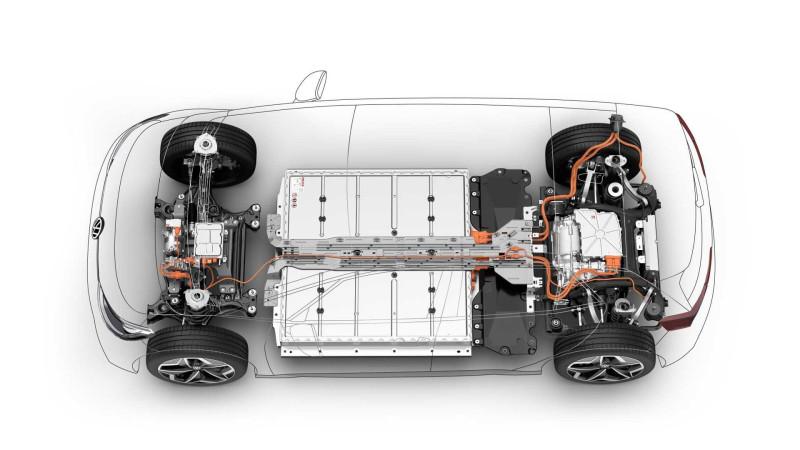 Платформа VW MEB (используется на Id.3, Id,4, Skoda EnyaQ)
