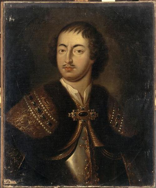 Петр I П. Ван дер Верффа. Версаль.
