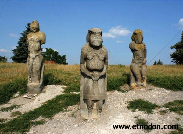 каменные бабы половцев