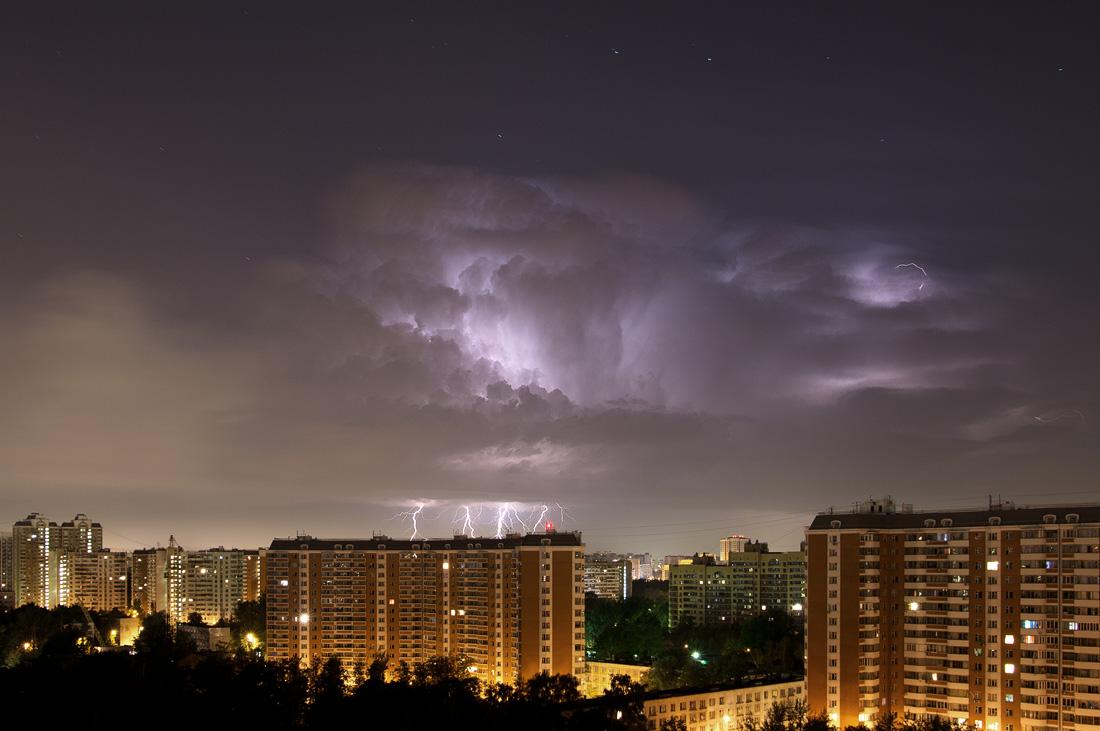 Зарница в Москве