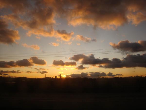 И еще раз закат