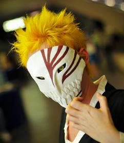 Kurosaki ichigo cosplay hollow mask a posse ad esse livejournal - Ichigo vizard mask ...