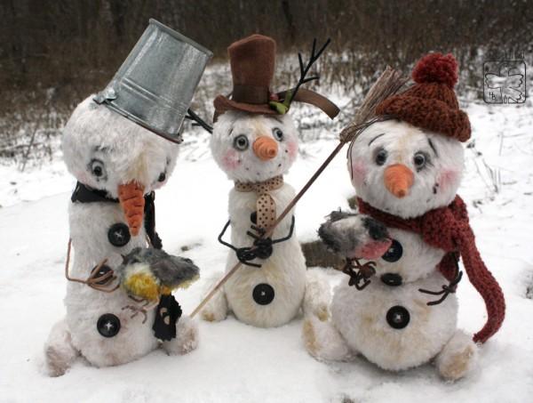 Снеговики-1
