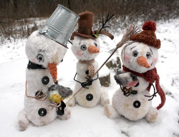 Снеговики-3