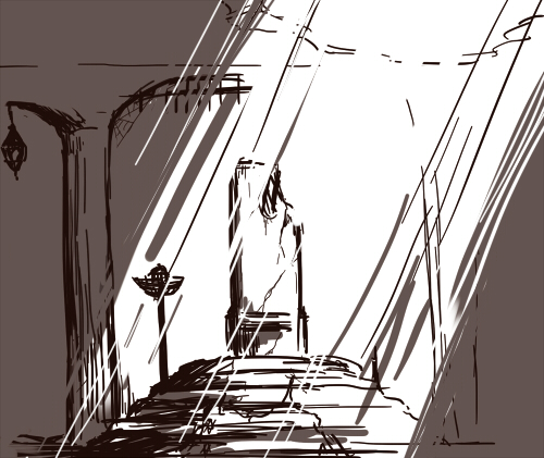 Throne Room Sketch