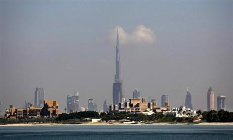 башня Бурдж Дубай