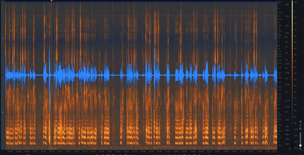 186 Уровень записи 20 отключен НЧ микрофон и включен фильтр НЧ.jpg