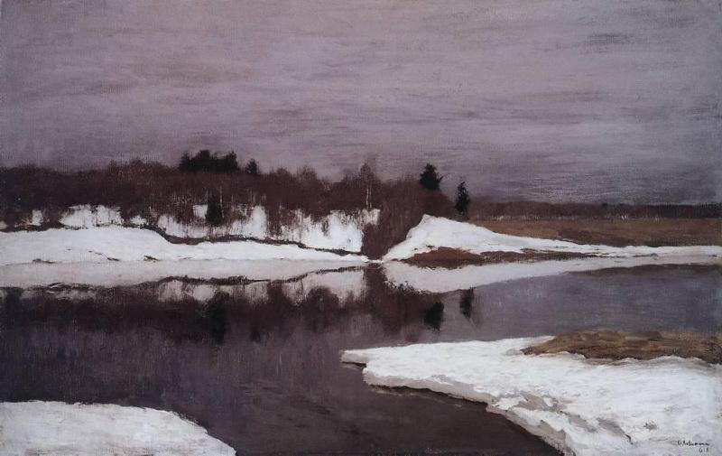 Левитан_Ранняя_весна_(1898)