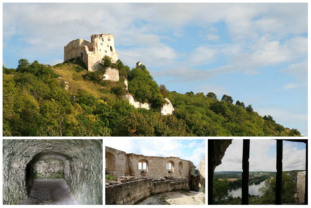 Легендарный Шато-Гайар... Путешествие в замок, повидавшем тысячи человеческих трагедий...