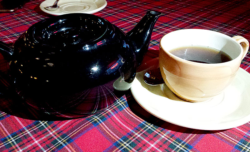 Однажды я пил чай