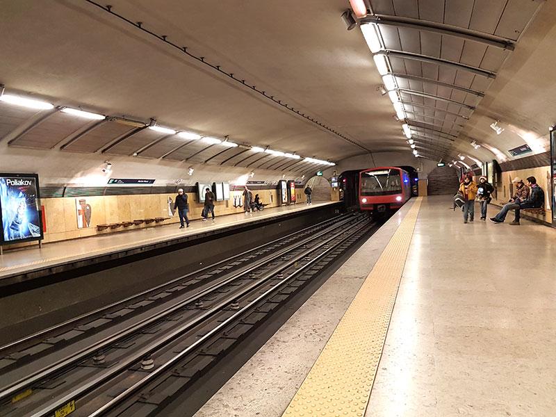 Зарисовки о Лиссабоне. Пост про метро!