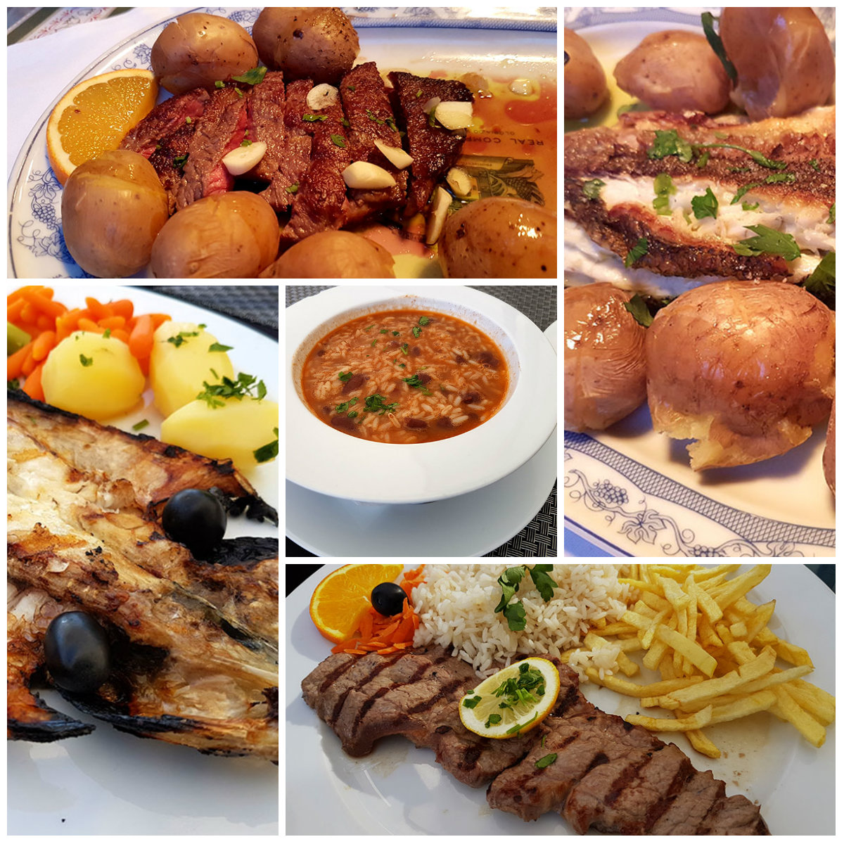 Португальская еда: рыба или мясо?:)