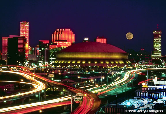 New Orleans Moonrise