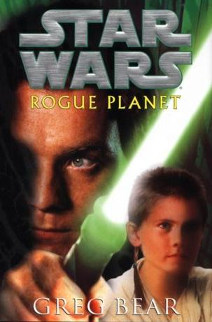 cover with Kenobi and his lightsaber nearly scorching young Anakin's head