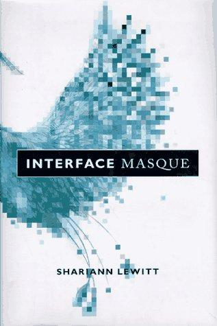 cover of Interface Masque, pixellated blue bird wing