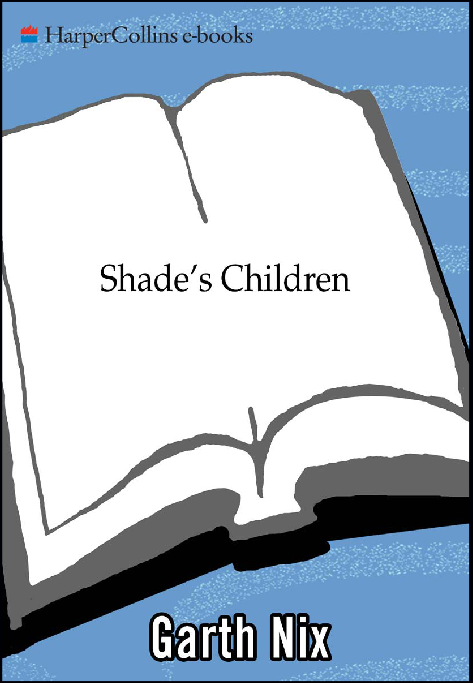 cover of Shade's Children ebook, hideously and childishly made