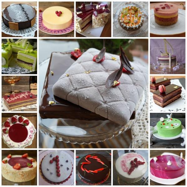 Подборка - Ягодные торты и пирожные