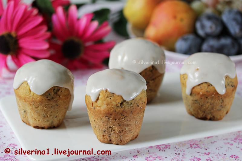 Лимонные кексы с маком (2)