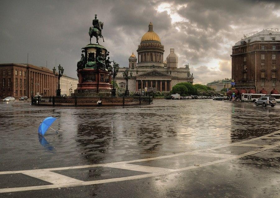 город зонтов