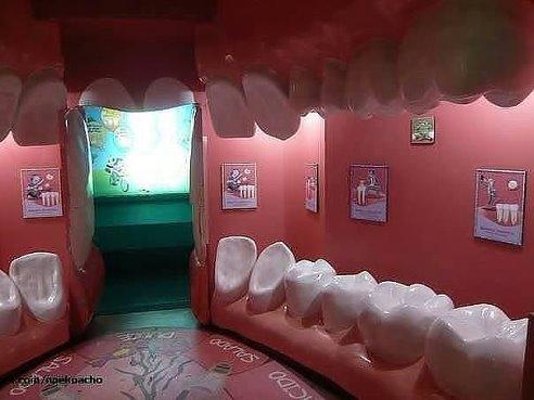 entrada a dentista-imaginaos la entrada a un genicologo;-)))