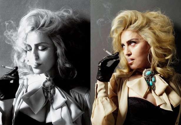 Madonna con o sin Photoshop 3