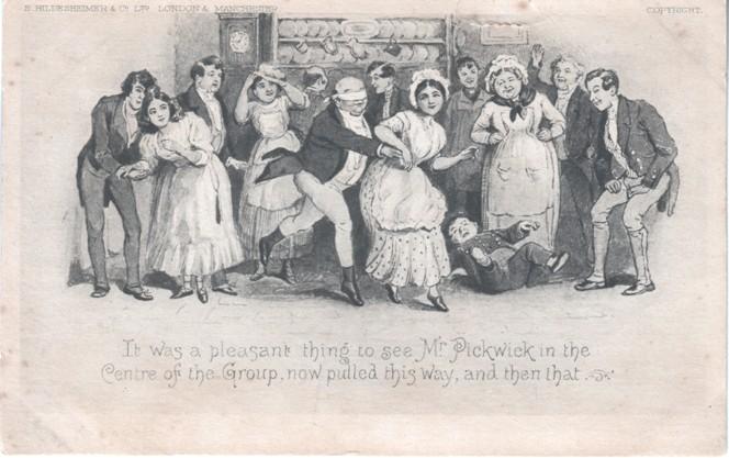 Pickwick Xmas party