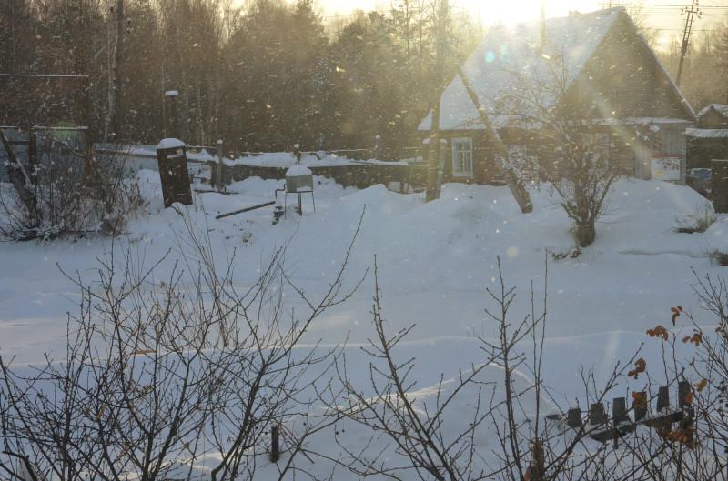 снег под солнцем