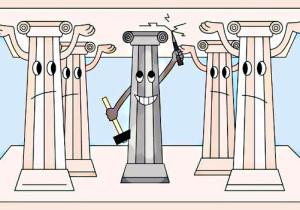 5 колонна