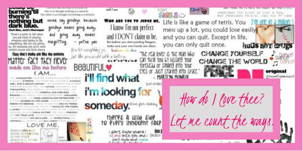 love quotes challenge 600x300