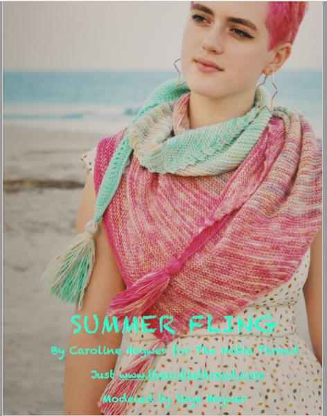 summer fling shawl