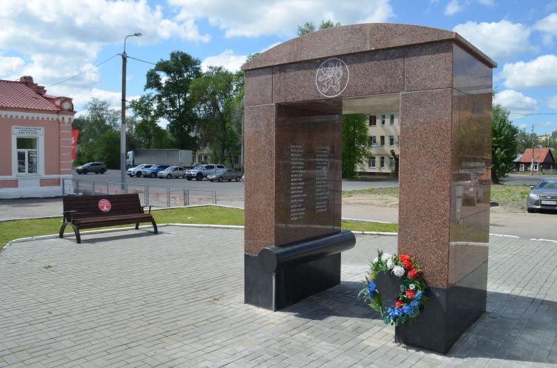 Мемориал чехословацким легионерам на станции Пенза-III (фото - Симонов Денис).