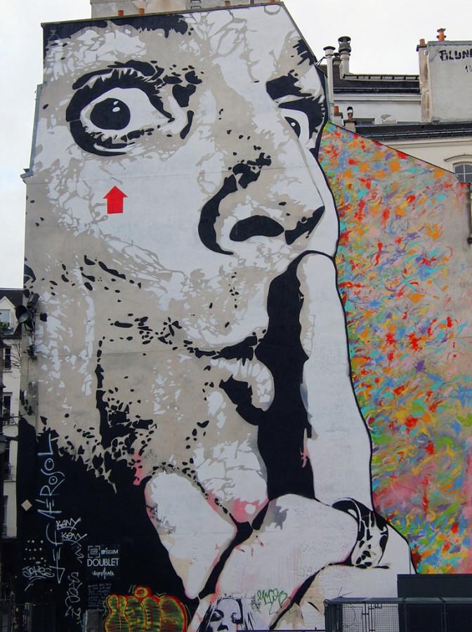граффити парижа