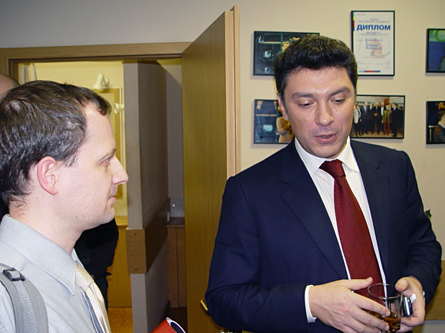 Сергей Шведов и Борис Немцов