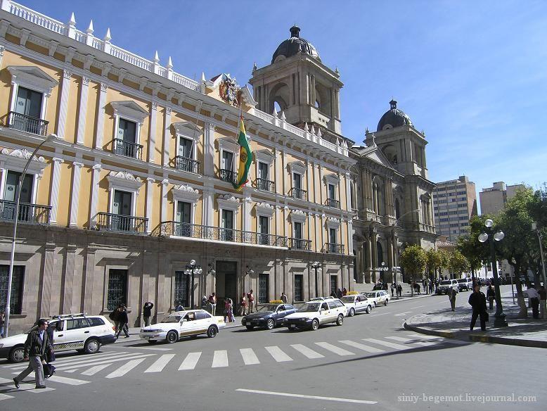 Фото4 Президентский дворец со зловещим красным залом