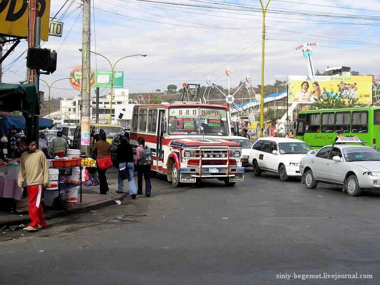 Фото7 Автобус в Кочабамбе