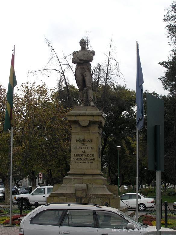 Фото16 Без памятника Боливару не обходится ни один город