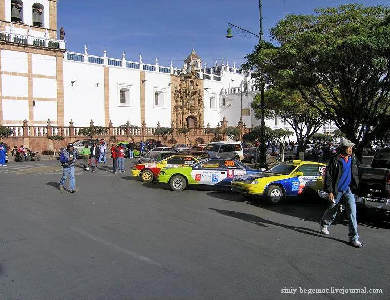 1 Гоночные машины на главной площади