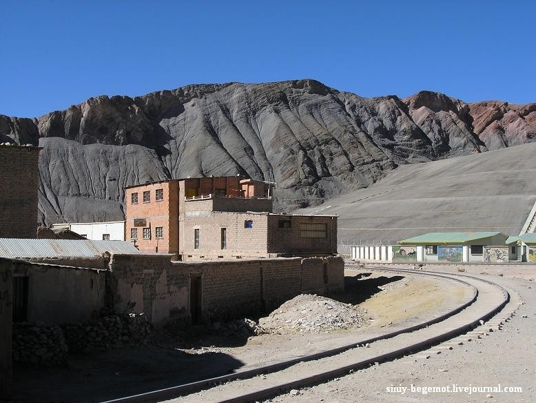 7 Вид из шахтерского поселка