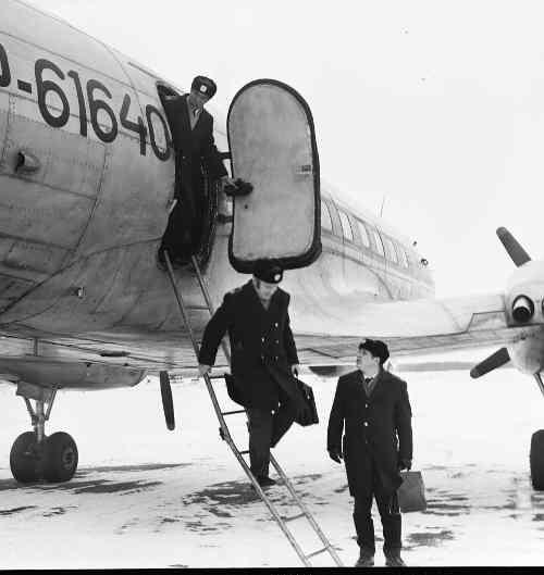 Экипаж Ил-14