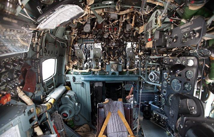 Кабина штурмана Бе-12