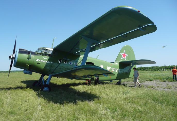 Ан-2 , аэродром ДОСААФ Гремячье, Воронеж. 2011г.