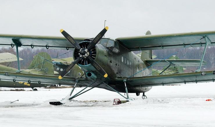 Ан-2 на лыжах