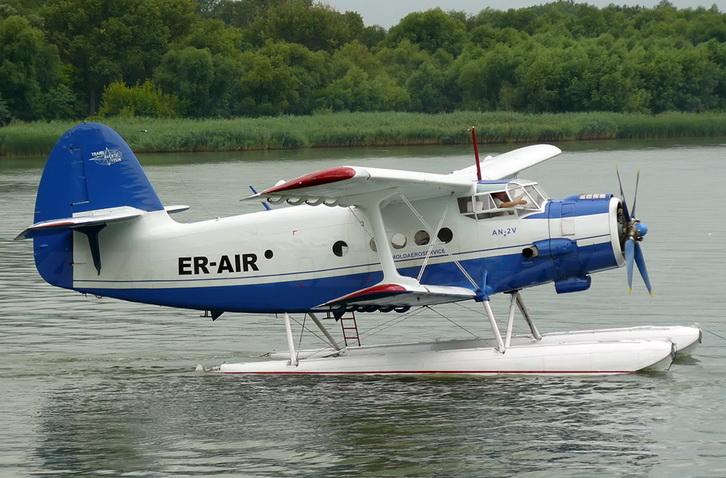 Ан-2 на поплавках