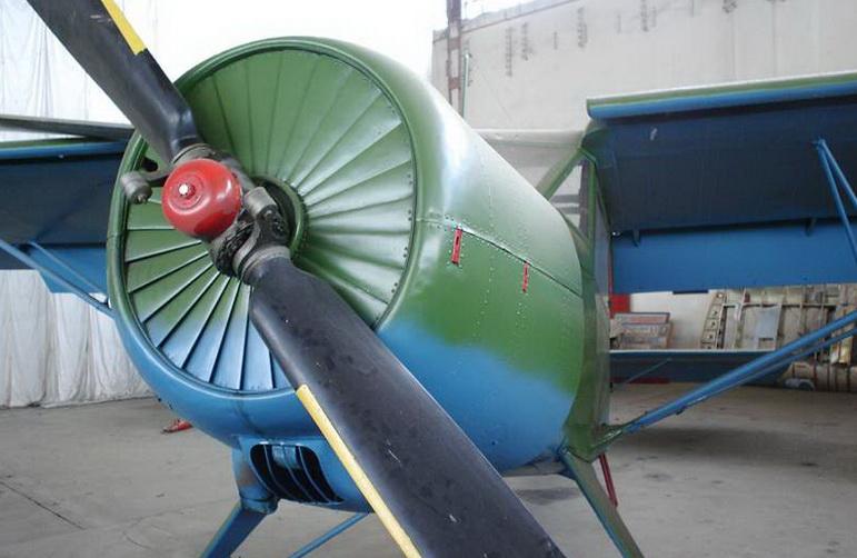 Жалюзи капота Як-12